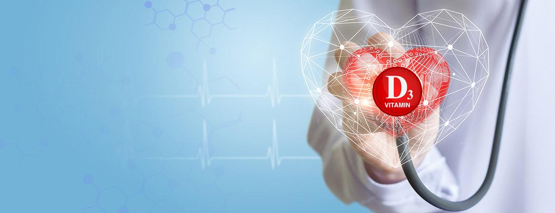 Vitamin D3: Repairs Cardiovascular System Damage